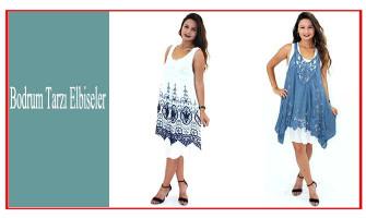 Bodrum Tarzı Elbiseler
